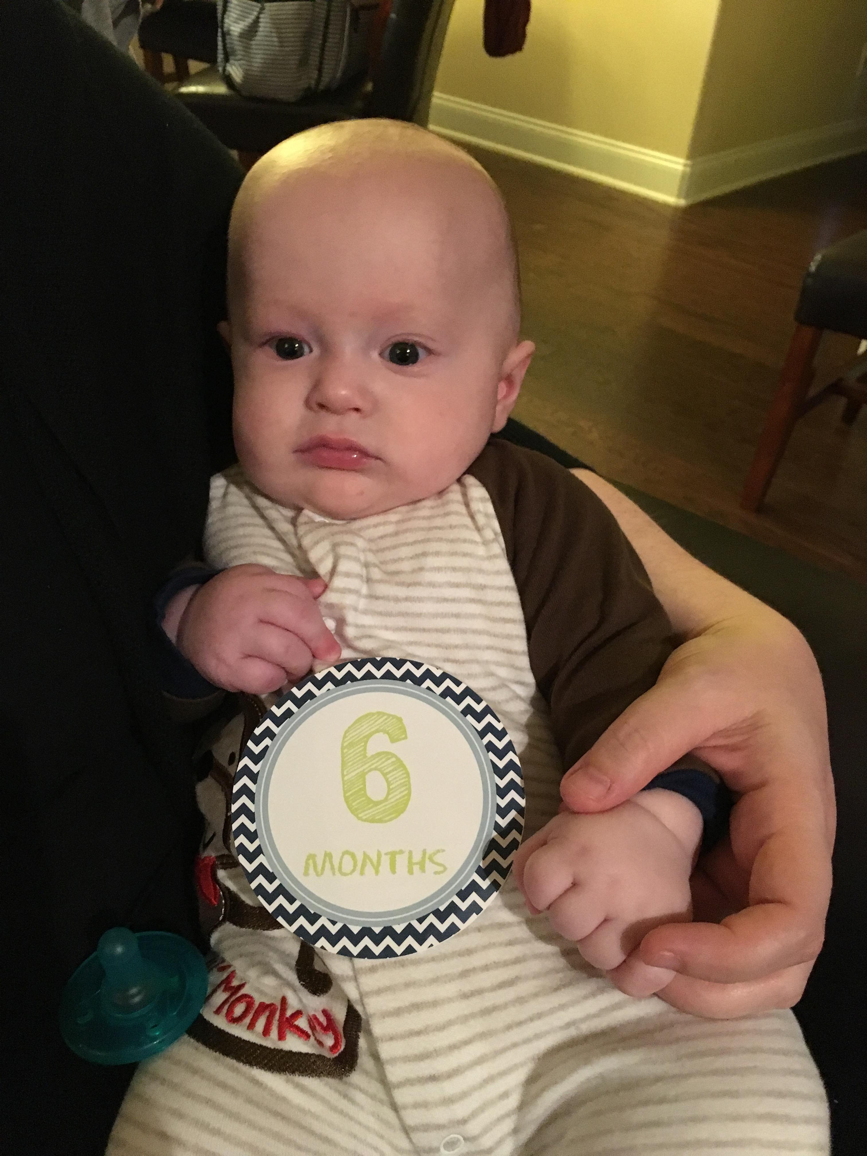 Spencer at 6 months old.