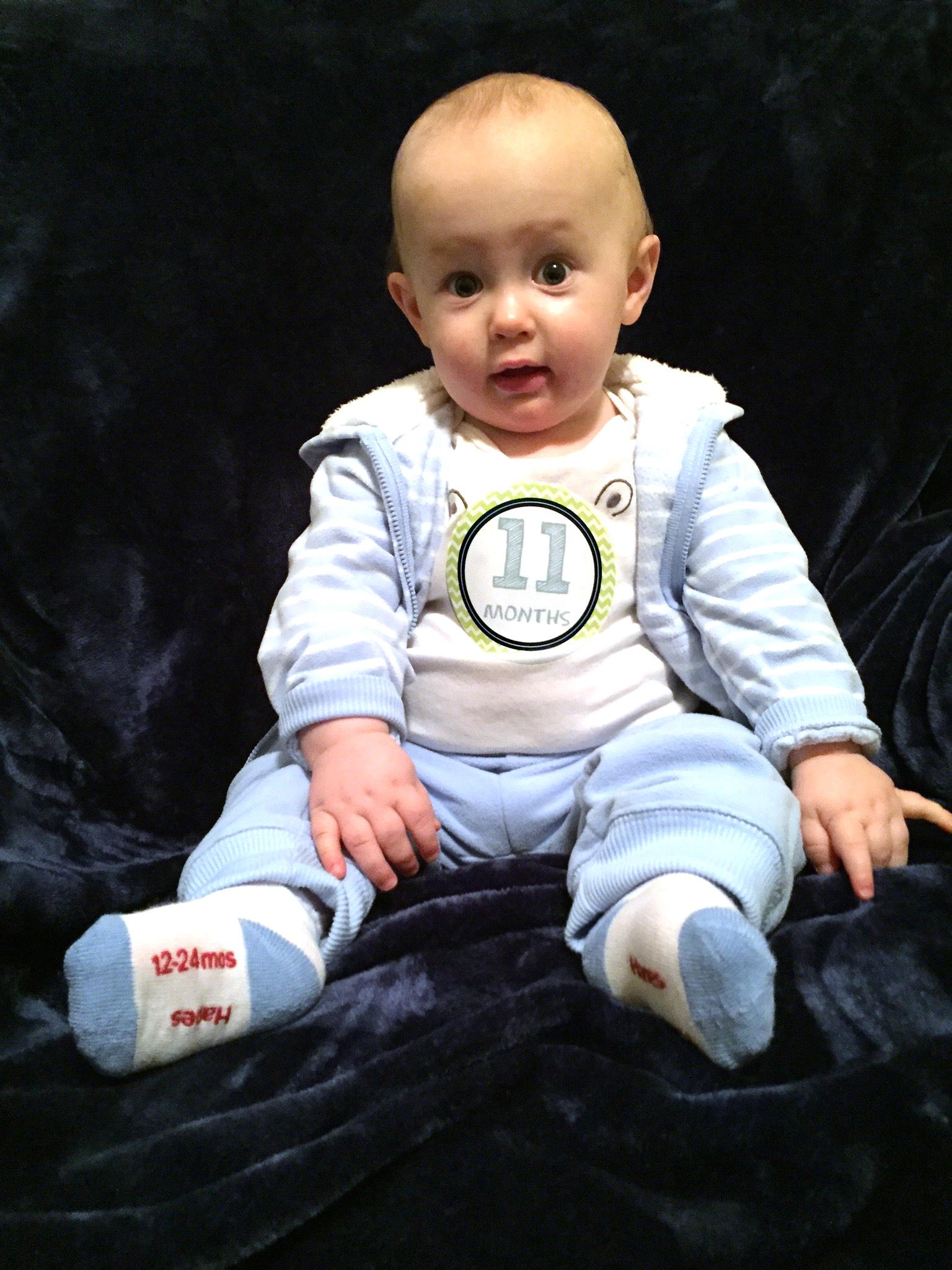 Spencer 11 months